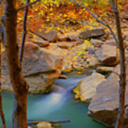 Virgin River In Autumn Art Print