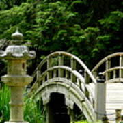 Virginia Bridges -japanese Garden Art Print