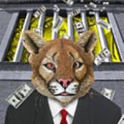 Wall Street Predator Art Print