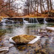 Walnut Creek Waterfall Art Print