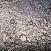 Water Abstraction - Liquid Metal Art Print
