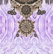 Wave And Jewels Art Print