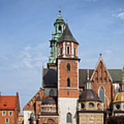 Wawel Cathedral In Krakow Art Print