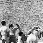 We The People Signing Bicentennial Of The Constitution Tucson Arizona 1987 Art Print