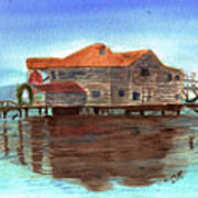 West End Roatan Art Print