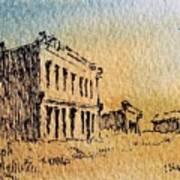 White Oaks Ghost Town New Mexico Art Print