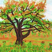 Willow Tree, Painting Art Print