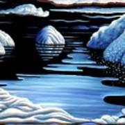 Winter Art Print by Barbara Stirrup