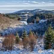 Winter Wonderland In Central Scotland Art Print