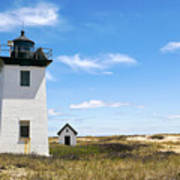 Wood End Lighthouse In Provincetown On Cape Cod Massachusetts Art Print