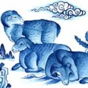 Year Of The Sheep Art Print
