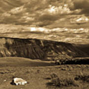 Yellowstone Sky Art Print