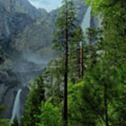 Yosemite Falls Art Print