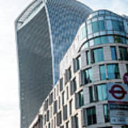 20 Fenchurch Street A Commercial Skyscraper In London Art Print