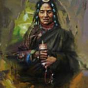 20 Pakistan Folk Gilgit Art Print