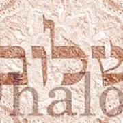 Shalom, Peace Art Print