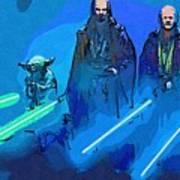 Star Wars Saga Art Art Print