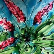The Divine Flower Art Print