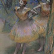 Two Dancers Art Print