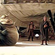 Vintage Star Wars Poster Art Print