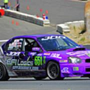 2004 Subaru Wrx Sti Art Print