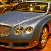 2006 Chicago 2006 Bentley Continental Gtauto Show Art Print