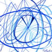 2007 Abstract Drawing 3 Art Print