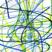 2007 Abstract Drawing 5 Art Print
