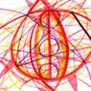 2007 Abstract Drawing 6 Art Print