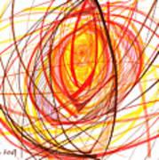 2007 Abstract Drawing 8 Art Print