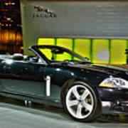 2007 Jaguar Xkr Convertible R No 1 Art Print