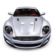 2009 Aston Martin Dbs Art Print