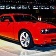 2009 Dodge Challenger Number 2 Art Print