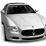 2009 Maserati Quattroporte S Art Print