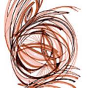 2010 Abstract Drawing Six Art Print