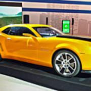 2010 Chevrolet Camaro Art Print