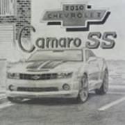 2010 Chevrolet Camaro Ss  Art Print