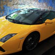 2011 Lamborghini Gallardo Lp560-4 Bicolore 2 Art Print