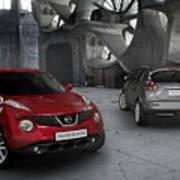 2011 Nissan Juke 4 Art Print