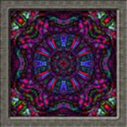 20110413-castlewindow-uk25-k12-v04 Art Print