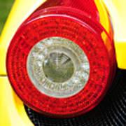 2012 Ferrari 458 Spider Brake Light Art Print