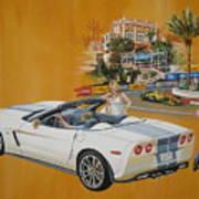 2013 Chevrolet Corvette Art Print