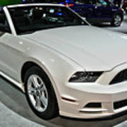 2013 Ford Mustang No 1 Art Print