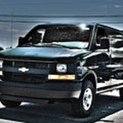 2015 Chevrolet Express Van Art Print