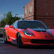 2015 Corvette Stingray  Art Print