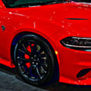 2015 Dodge Charger Srt Hellcat Art Print