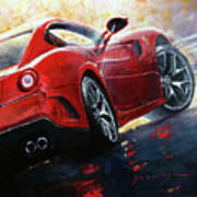 2015 Ferrari 599 Gtb Fiorano Art Print