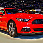 2015 Ford Mustang Coupe I4 Premium Art Print