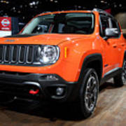 2015 Jeep Renegade Trailhawk Number 3 Art Print