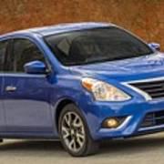 2015 Nissan Versa Sedan Art Print